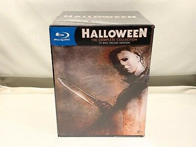 SEALED Halloween: Complete Collection 15-Disc Set Blu-ray Deluxe limited edition