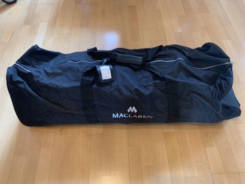 Maclaren Carry Bag Tragetasche Reisetragetasche Transporttasche für Buggy Rädern