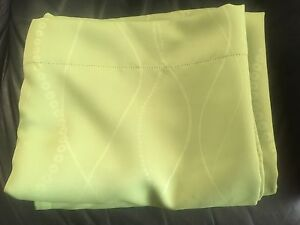 Lime Green Curtain Panels (2)