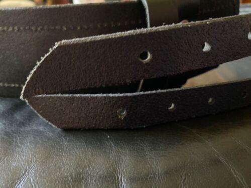 Double Down Black kilt belt size M