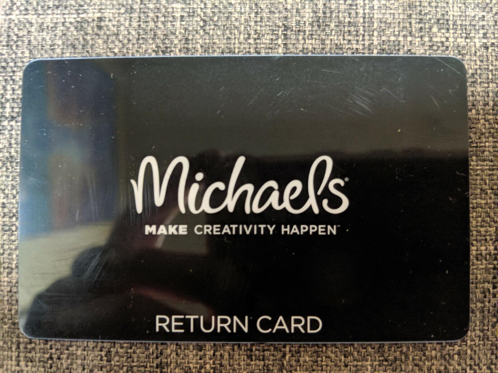 76.00 Michaels Gift Card Merchandise Credit BALANCE 76.00 - $66.00