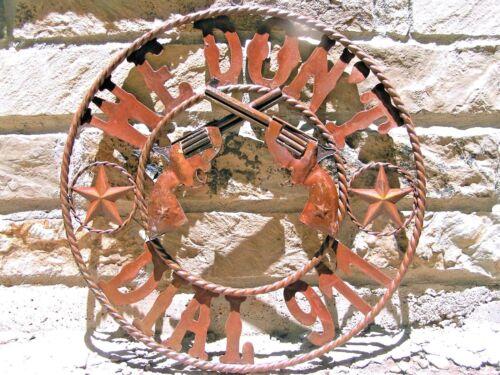 Metal Art Iron Cutout We Don