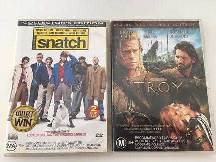Snatch & Troy dvds