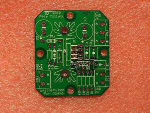 DIY-PCB-2x-Power-Opamp-Driver-PCB-OPA452-OPA547