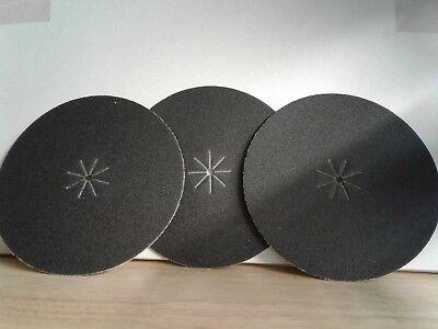 7 X 516 Silicon Carbide Floor Sanding Edger Disc 50 Grit 50 Perbox
