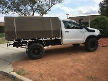 toyota Hilux 4x4 2009 Chisholm Tuggeranong Preview