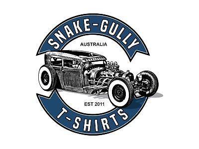 Snake-gully t-shirts