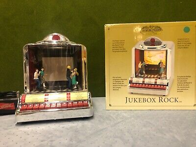 Mr. Christmas Jukebox Classic 50's Rock 12 Songs w/ Animated Dancers, Projector ()