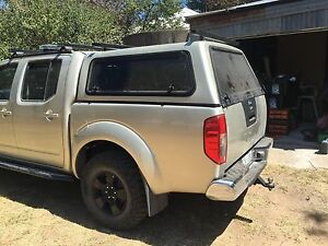 D40 navara ute tub back with canopy Murrumbateman Yass Valley Preview