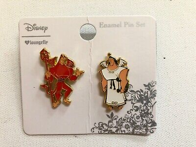 Disney Kronk Angel and Devil Loungefly Pins The Emperor's New Groove 2 Pin set  - Angel And Devil
