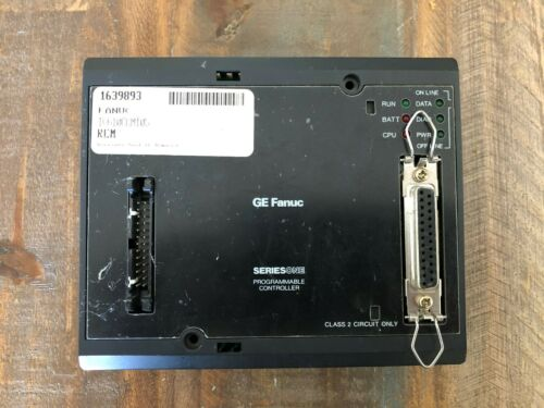 USED GE FANUC PROGRAMMABLE CONTROLLER IC610CCM105D