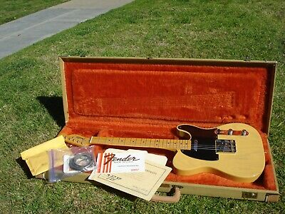 1989 Fender 52 1952 American Vintage Reissue USA Telecaster with COA