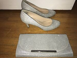 Prom / formal shoes and clutch