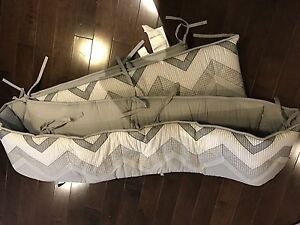 Pottery Barn Bumper Pad. Never used.