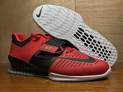 NIKE Romaleos 3 RED Weightlifting Shoes size 14 Gym , usado comprar usado  Enviando para Brazil