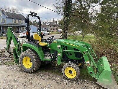 John Deere 2038r 4wd Ldr Backhoe 2016 W 840 Hrs Exc. Cond. 0 Pto Hours