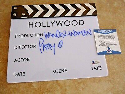 Patty Jenkins Wondeer Woman Director Signed Autographed Clapboard Psa Certified