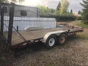 20 foot medium duty utility trailer