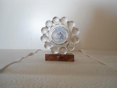 Pokal mit Emblem von Joska Kunstwerkstätten Bodenmais