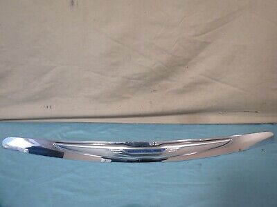 ✅ 11 12 13 14 Chrysler 200 Front Hood Molding Trim Panel CENTER BAR Chrome OEM