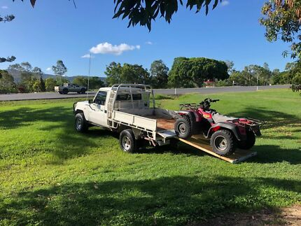Landcruiser 79series single cab steel tray Fawkner Moreland Area Preview