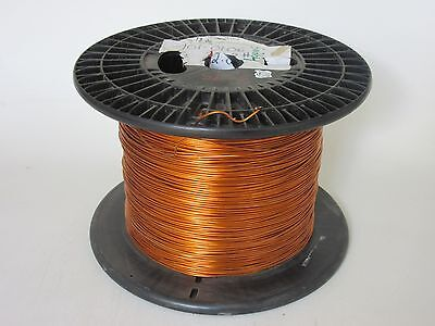 13 Awg  32 Lbs. Essex Formvar Heavy Enamel Coated Copper Magnet Wire