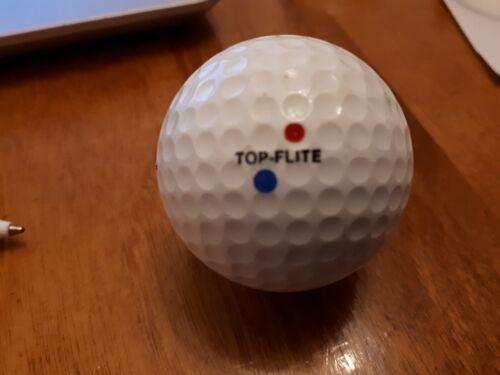 1 Vintage Top Flite A.G Spalding Red/Blue Dot Logo Golf Ball