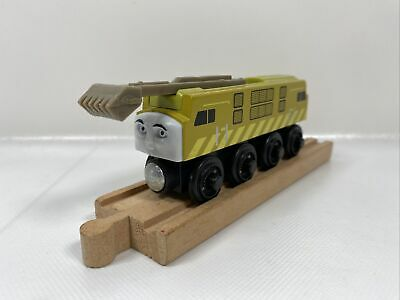 Thomas the Train Wooden Railway Diesel 10  SLIDING CLAW Learning Curve 2003