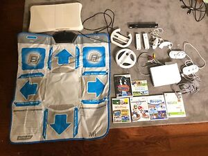 Wii system, games and accessories