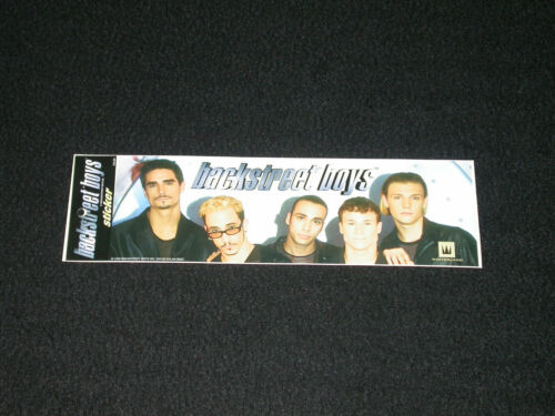 Vintage 1998 Backstreet Boys Bumper Sticker NEW NOS Rare!! Kalan BS22