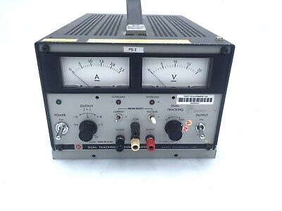 Kikusui Pdm 18-2.5a Dual Tracking Dc Power Supply 0 - 18 Volts 2.5 Amps
