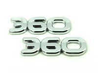 1x V6 Emblem Fender Hood Hot Rod Rat V6 6 Cylinder Engine Aluminum Emblem Badge