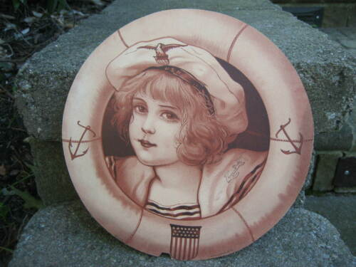 Victorian Merchants Publishing Company US Navy Girl Fan #544 Design