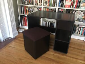 Excellent desk with storage chair
