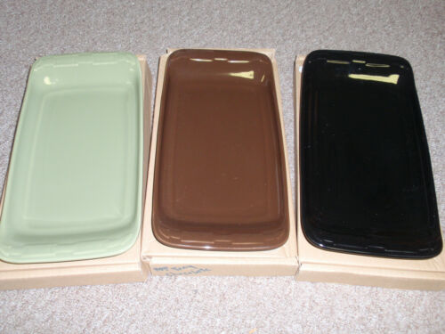 Longaberger Pottery, WT APPETIZER TRAY Sale is for the EBONY TRAY ONLY, NEW