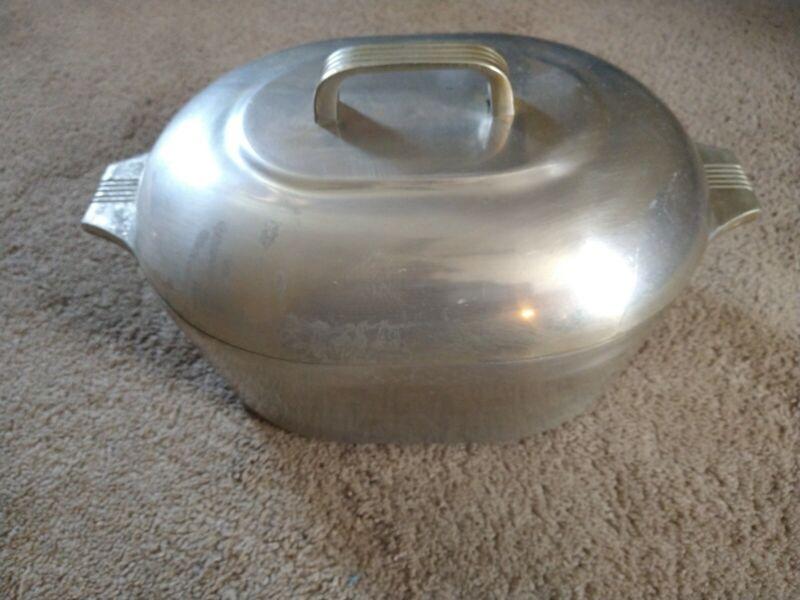 Vintage Wagner Ware Sidney O Aluminum Magnalite 4265-P Roaster Dutch Oven w/Lid
