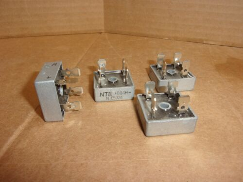NTE Electronics NTE5324 Bridge Rectifier , lot of 4 , used
