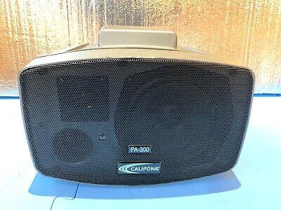 Califone Pa-300 Presentionpro Pa System Loudspeaker Great For Karaoke Too