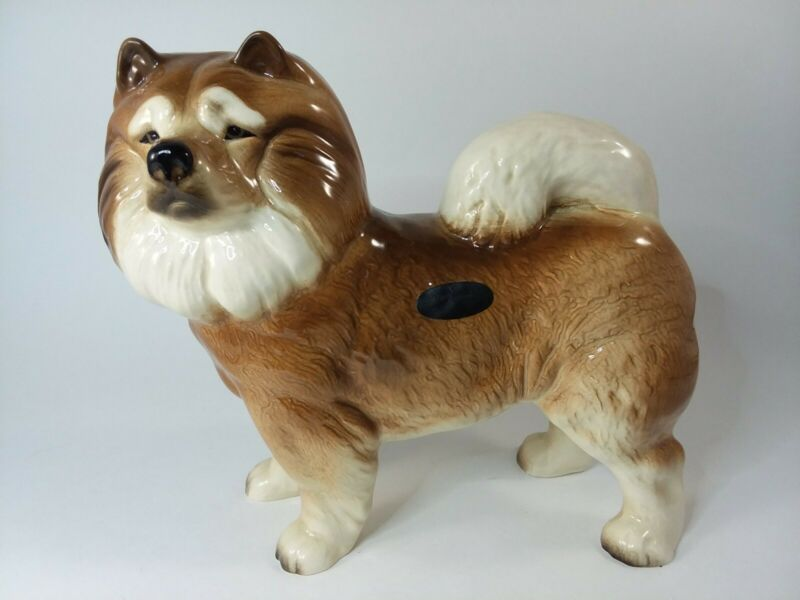 """Coopercraft Chow Chow Dog Made in England Large 7 1/4"""" x 8"""""""