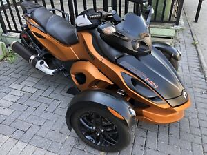 CanAm Spyder RSS