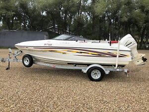 2001 glastron gsx 18.5ft outboard boat