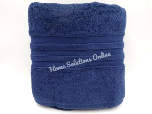 Pottery Barn Teen Everyday Essential Cotton Hand Towel Midnight Blue #7625S