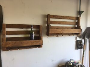 Pallet Wine Rack 6-8 bottle