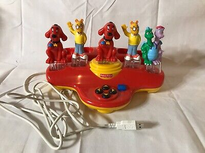 Fisher Price Easy Link Internet Launch Pad Smart Keys Arthur & Clifford Dragon