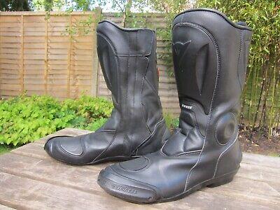 DAINESE D-Tec Men's Motorcycle Motorbike Boots Size UK 10 / EU 44
