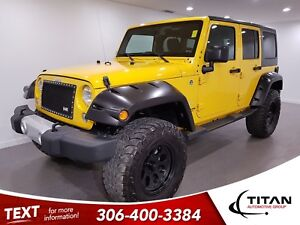 2015 Jeep WRANGLER UNLIMITED Sahara|4x4|Htd Mirrors|Bluetooth