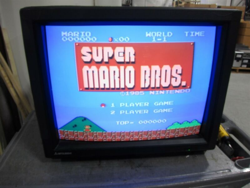 "Mitsubishi XC-2930C 29"" Retro Gaming RGB Color CRT Video Monitor"