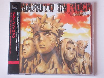 New Naruto In Rock Very Best Hit Collection Instrumental CD Anime OST (Best Music In Anime)