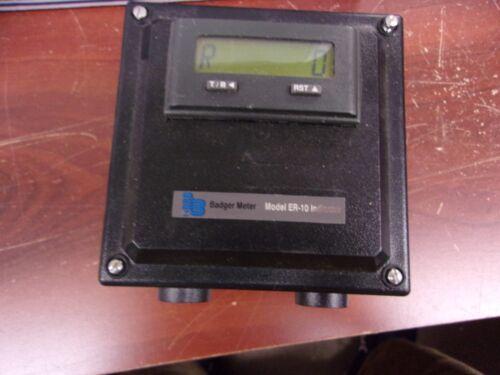 BADGER METER ER-10 INDICATOR CONTROLLER 62833-007