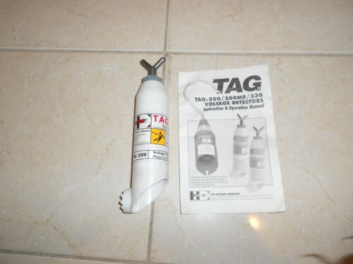 H D ELECTRIC TAG 200 DIRECT CONTACT VOLTAGE DETECTOR 4 KV TO 12 KV